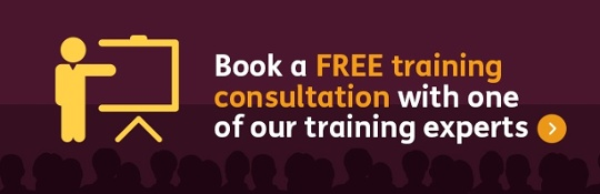 Book a training consultation with one of our training experts